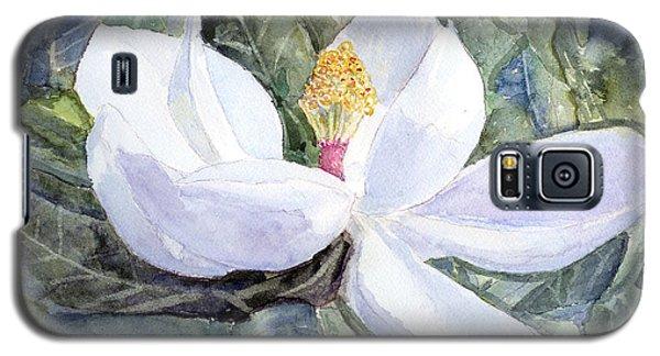 Magnolia Blossom Galaxy S5 Case by Barry Jones
