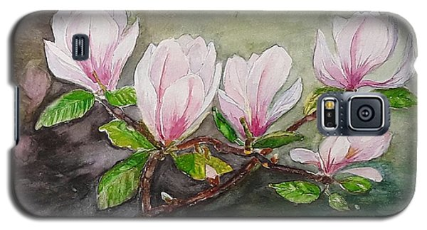 Magnolia Blossom - Painting Galaxy S5 Case