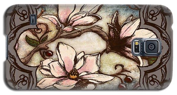 Magnolia Branch II Galaxy S5 Case