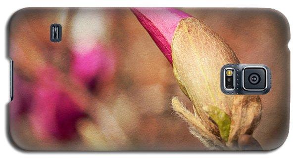 Magnolia Bud Artified Galaxy S5 Case