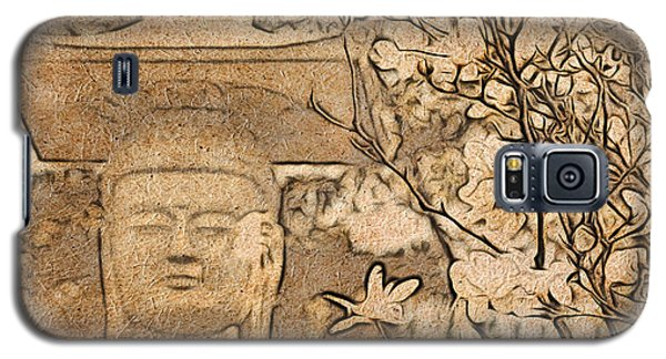 Magnolia Buddha Galaxy S5 Case