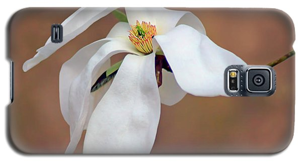 Galaxy S5 Case featuring the photograph Magnolia Grace by Nikolyn McDonald