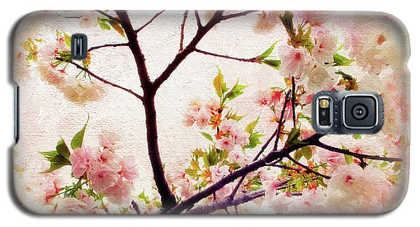 Galaxy S5 Case featuring the photograph Asian Cherry Blossoms by Jessica Jenney
