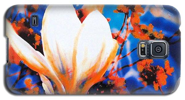 Magnolia Galaxy S5 Case - Magnolia by Nica Art Studio