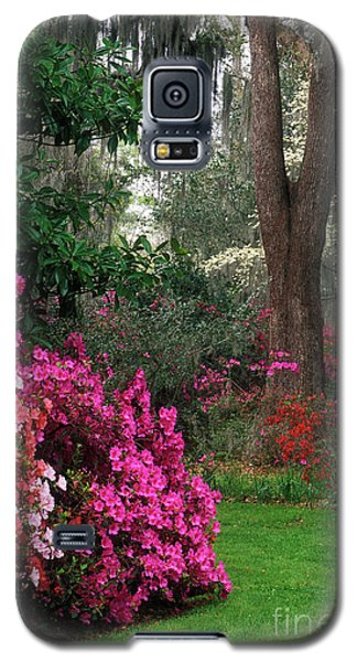 Galaxy S5 Case featuring the photograph Magnolia Plantation - Fs000148a by Daniel Dempster