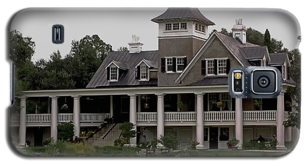 Magnolia Plantation Home Galaxy S5 Case by DigiArt Diaries by Vicky B Fuller