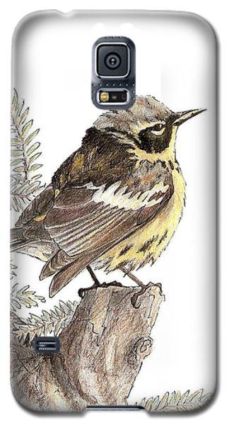 Magnolia Warbler Galaxy S5 Case