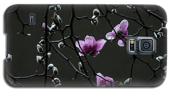 Magnolias In Rain Galaxy S5 Case