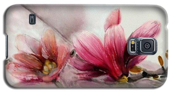Magnolien .... Galaxy S5 Case by Jacqueline Schreiber
