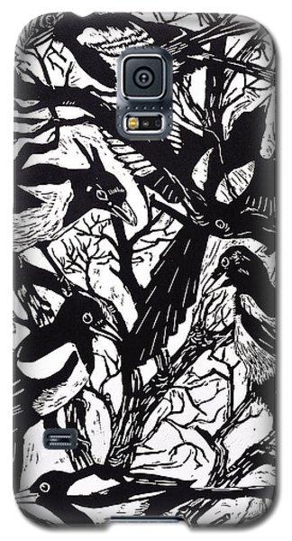 Magpies Galaxy S5 Case