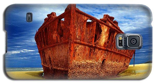 Maheno Shipwreck Fraser Island Queensland Australia Galaxy S5 Case