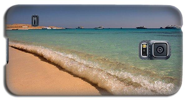 Mahmya Island Beach Waves Galaxy S5 Case