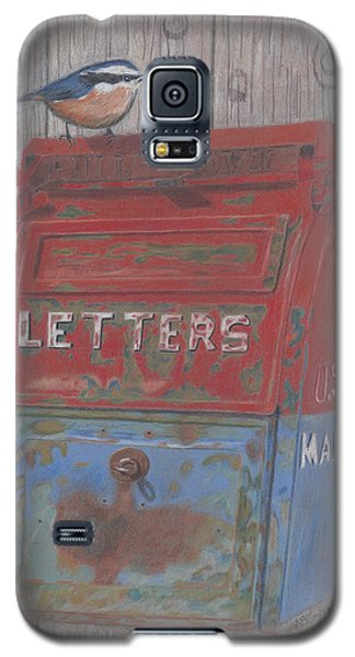Galaxy S5 Case featuring the painting Mail Call by Arlene Crafton