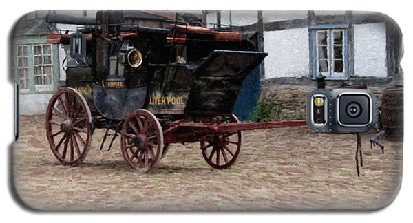 Mail Coach At Lacock Galaxy S5 Case by Paul Gulliver