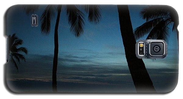 Ma'ili Beach After Sunset Galaxy S5 Case