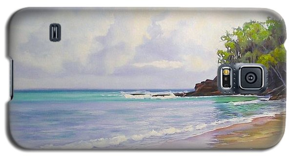 Main Beach Noosa Heads Queensland Australia Galaxy S5 Case by Chris Hobel