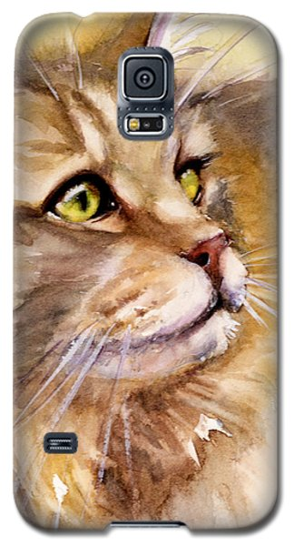 Main Coon Galaxy S5 Case by Judith Levins