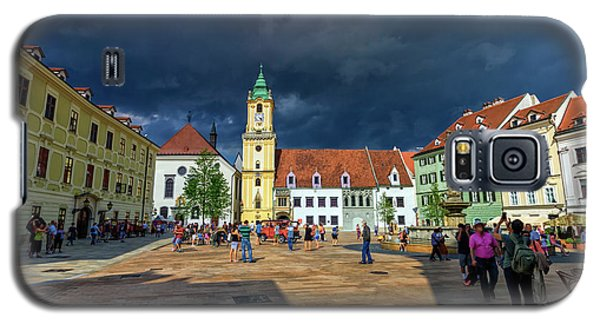 Main Square In The Old Town Of Bratislava, Slovakia Galaxy S5 Case