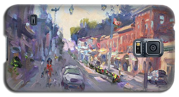 Georgetown Galaxy S5 Case - Main St Georgetown Downtown  by Ylli Haruni