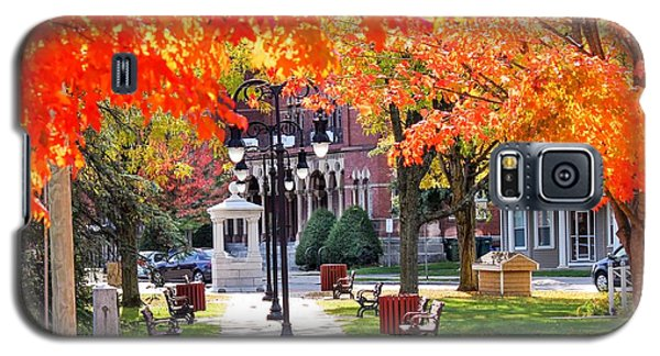 Main Street In The Fall Galaxy S5 Case