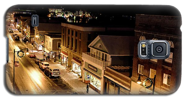 Galaxy S5 Case featuring the photograph Main Street - Lake Placid New York by Brendan Reals