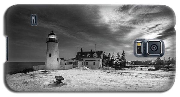 Maine Coastal Storm Over Pemaquid Lighthouse Galaxy S5 Case