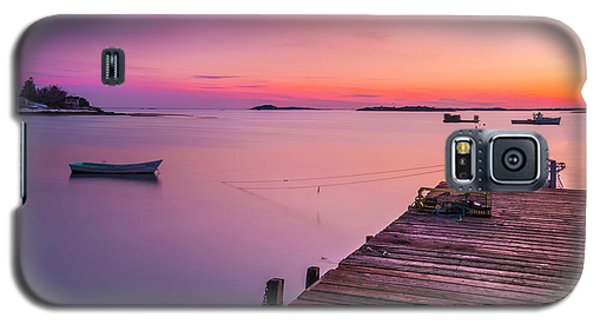Maine Cooks Corner Lobster Shack At Sunset Galaxy S5 Case