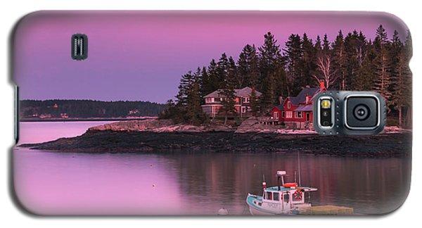 Maine Five Islands Coastal Sunset Galaxy S5 Case