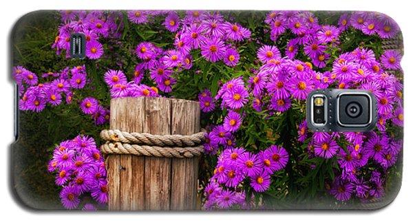 Maine Garden Scene Galaxy S5 Case