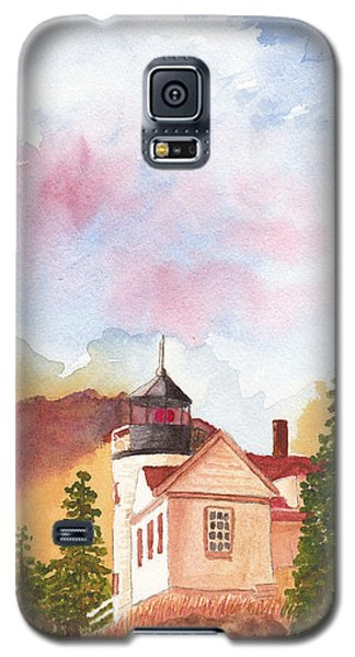 Maine Lighthouse In Morning Light Galaxy S5 Case