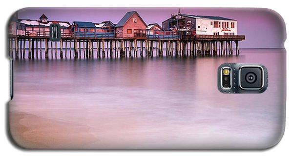 Maine Old Orchard Beach Pier Sunset  Galaxy S5 Case