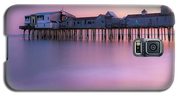 Maine Oob Pier At Sunset Panorama Galaxy S5 Case
