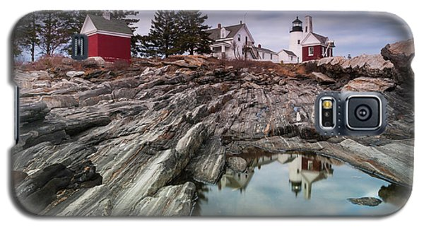 Maine Pemaquid Lighthouse Reflection Galaxy S5 Case