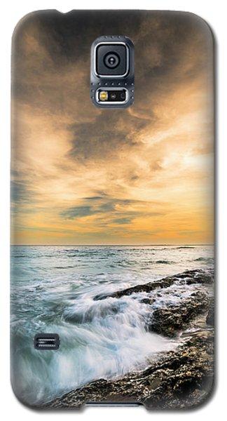 Maine Rocky Coastal Sunset Galaxy S5 Case