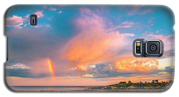 Maine Sunset - Rainbow Over Lands End Coast Galaxy S5 Case