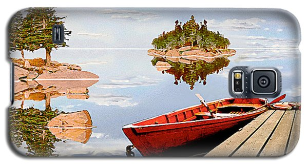Galaxy S5 Case featuring the photograph Maine-tage by Peter J Sucy