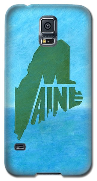 Maine Wordplay Galaxy S5 Case