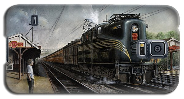 Train Galaxy S5 Case - Mainline Memories by David Mittner