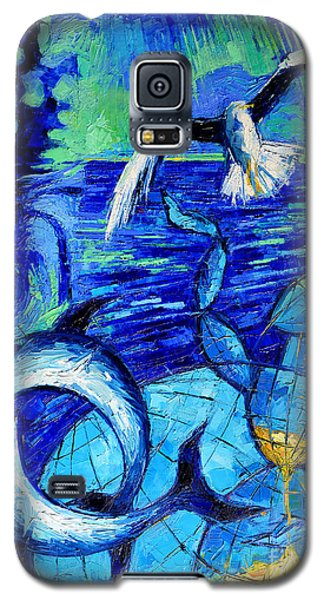 Majestic Bleu Galaxy S5 Case by Mona Edulesco