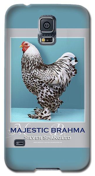 Majestic Brahma Silver Spangled Galaxy S5 Case