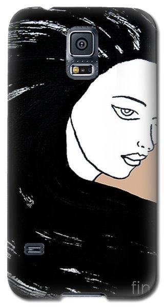 Majestic Lady J0715b Galaxy S5 Case