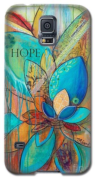 Spirit Lotus With Hope Galaxy S5 Case