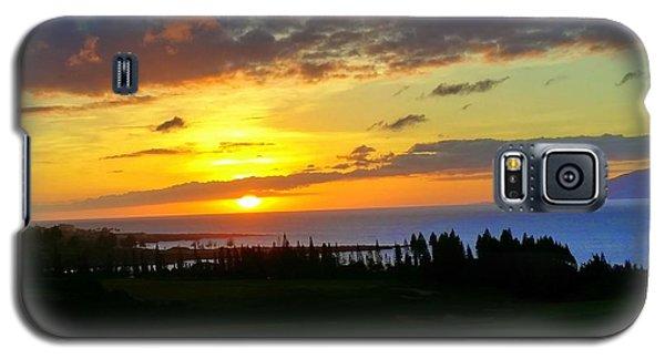 Majestic Maui Sunset Galaxy S5 Case