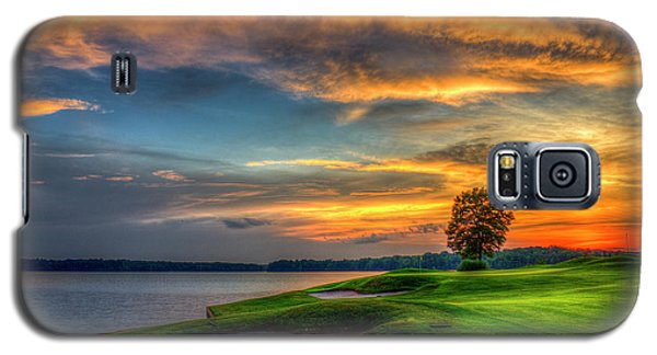 Galaxy S5 Case featuring the photograph Majestic Number 4 The Landing Reynolds Plantation Art by Reid Callaway