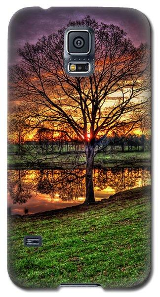 Majestic Sunrise Reflections Art Galaxy S5 Case
