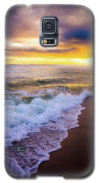 Galaxy S5 Case featuring the photograph Majestic Sunset In Paradise by Shelby Young
