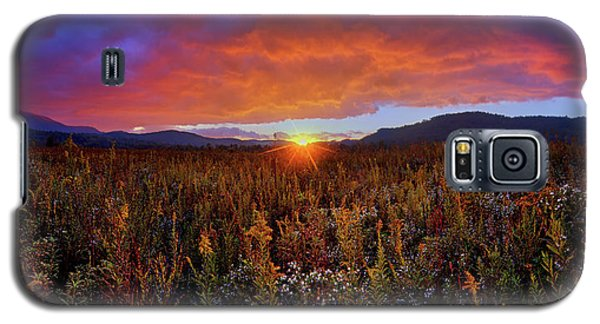 Majestic Sunset Over Cades Cove In Smoky Mountains National Park Galaxy S5 Case