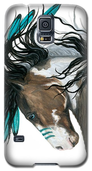 Majestic Turquoise Horse Galaxy S5 Case by AmyLyn Bihrle
