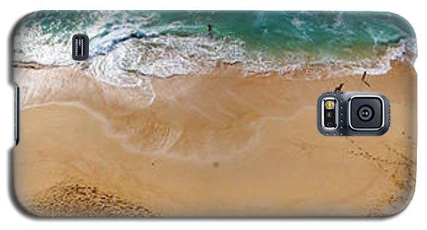 Makaha Beach Panorama Galaxy S5 Case