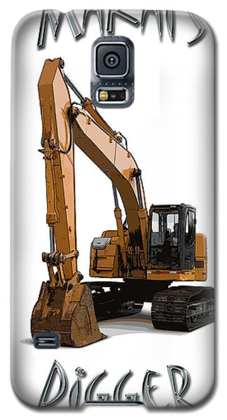Makai's Digger Galaxy S5 Case by Rob Tullis